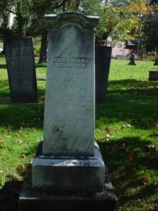 Hermon Bronson's Headstone